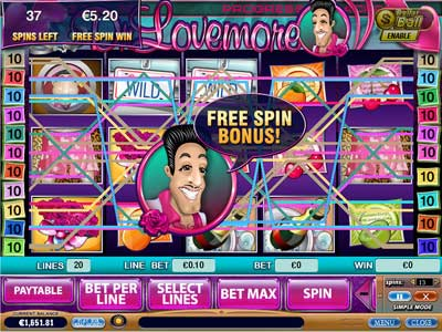 Doctor Lovemore online video slot