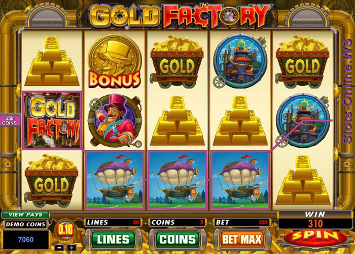 Gold Factory Screen