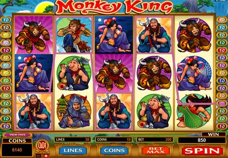 Monkey King online slots