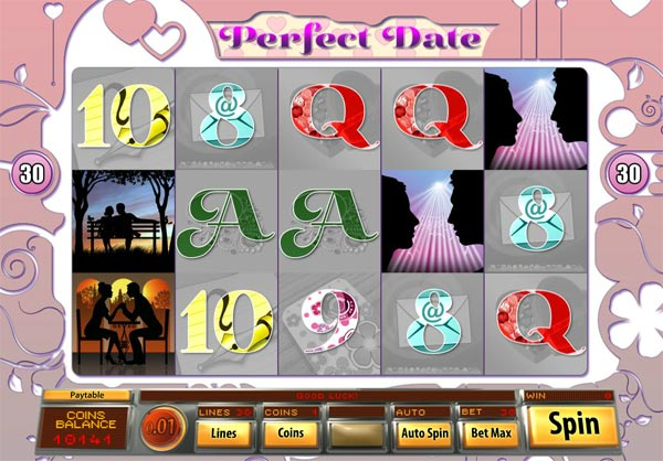 perfect date video slot