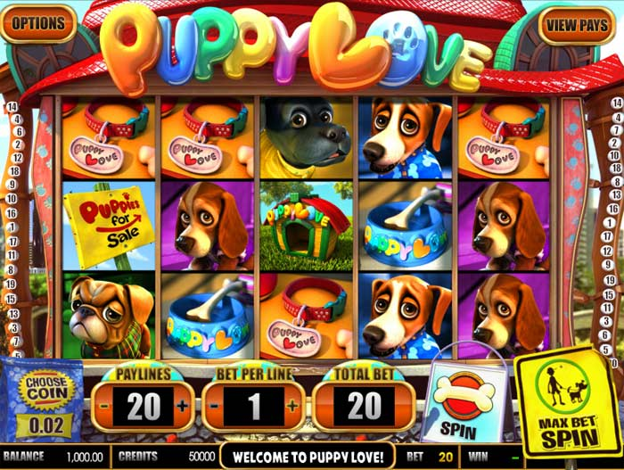puppy love video slot