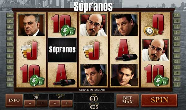 The Sopranos Online Slots Game