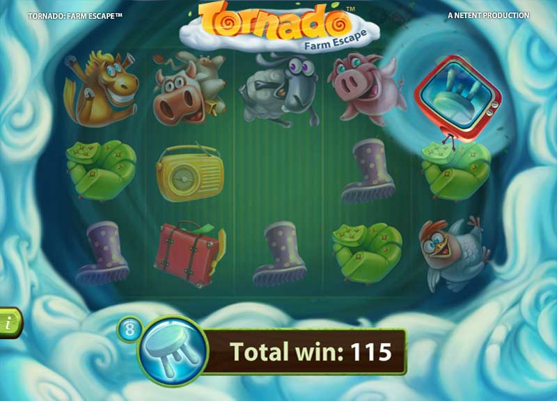tornado farm escape bonus game