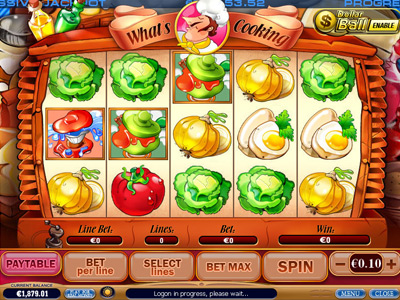 whats cooking video slot