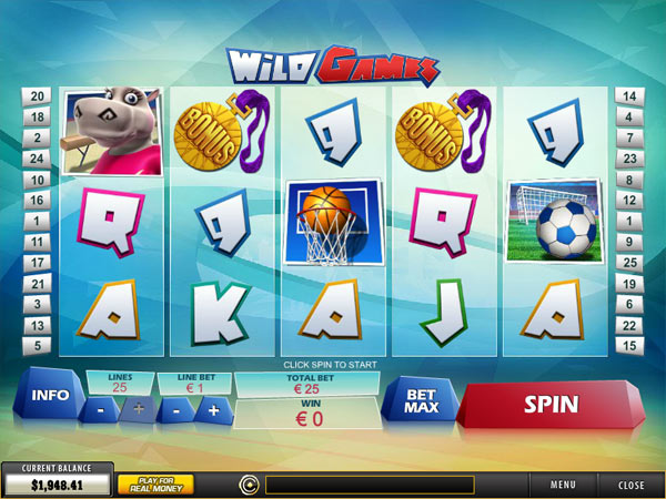 wild games olympic slots