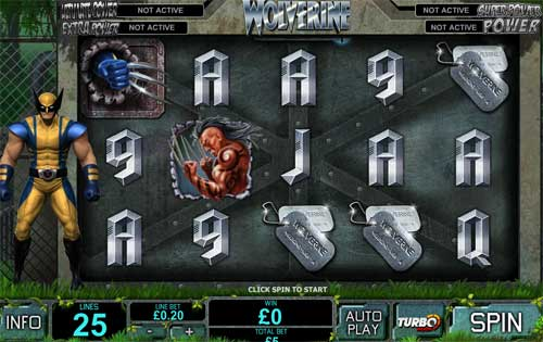 wolverine marvel video slot